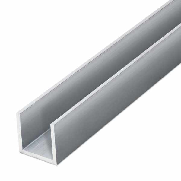 Aluminium U-Profil EN AW-6060