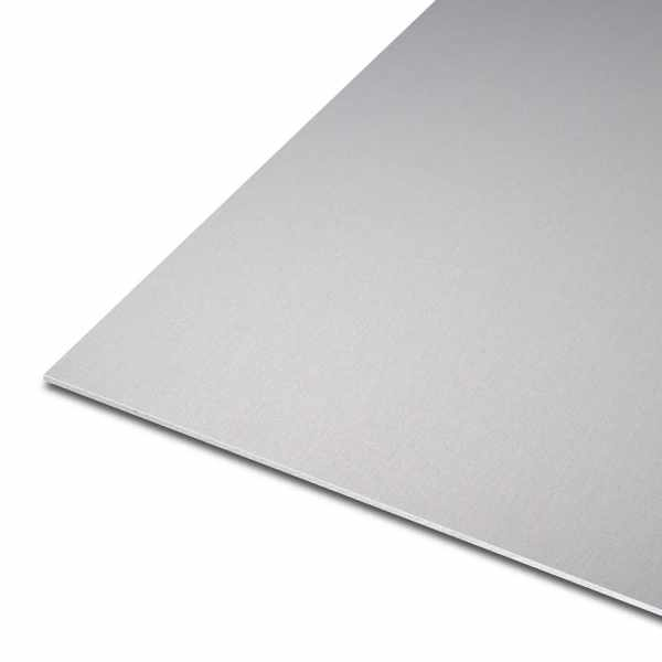 Blech aus Aluminium | EN AW-5005 | eloxiert | E6/EV1 | einseitig foliert