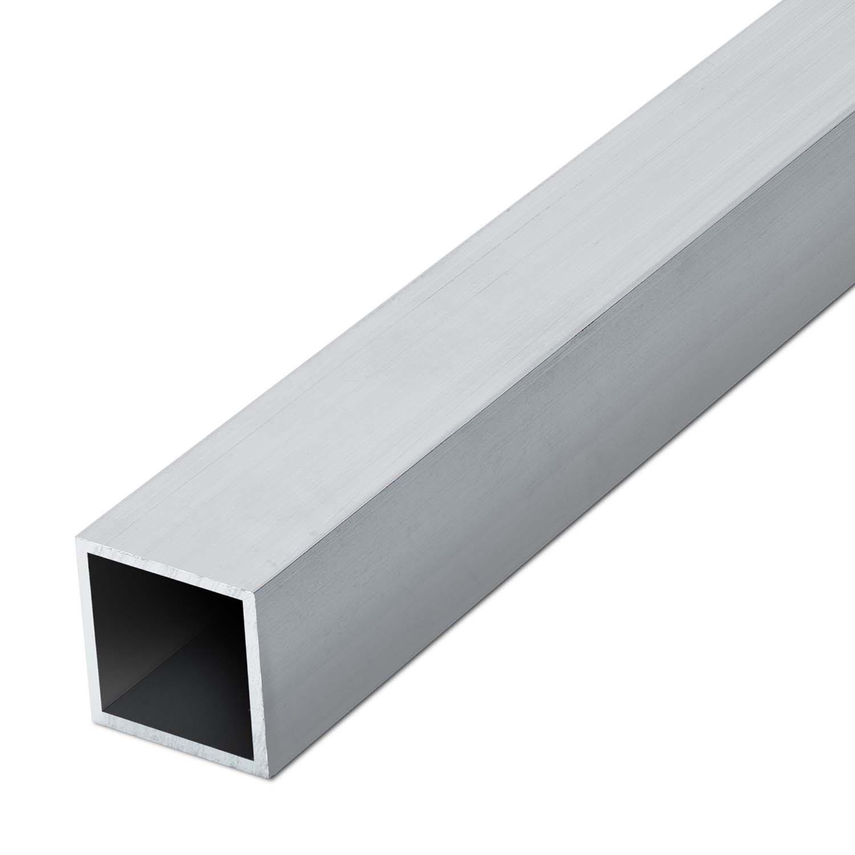 auf Zuschnitt 17,5cm Aluminium Rechteckrohr AW-6060-70x50x4mm L: 175mm