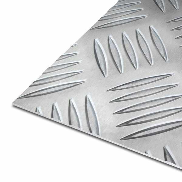 Riffelbleche | Aluminium | EN AW-5754 | Quintett