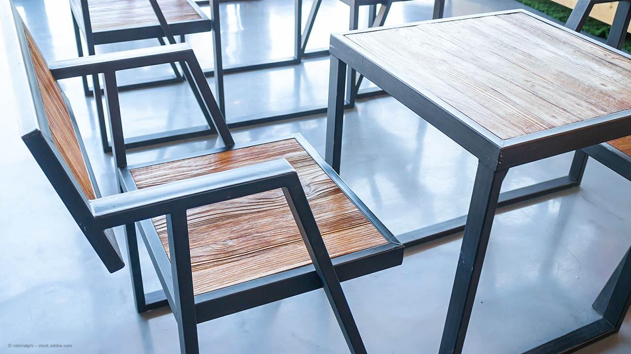 DIY Stuhl aus Rechteckrohr