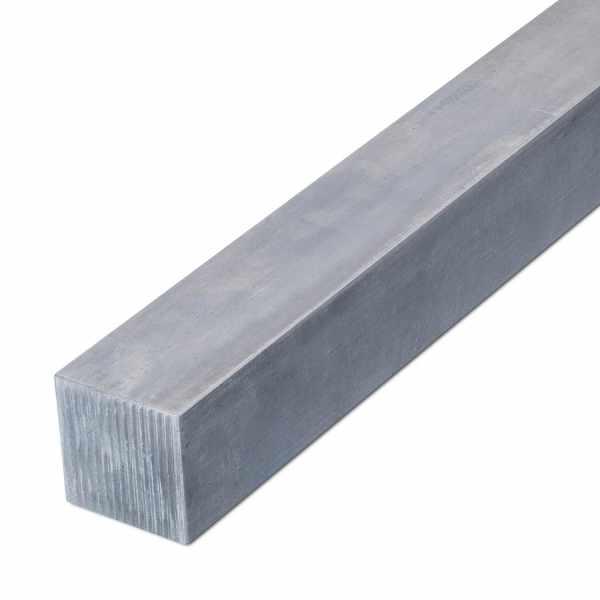 Vierkantprofil Edelstahl gezogen 1.4301