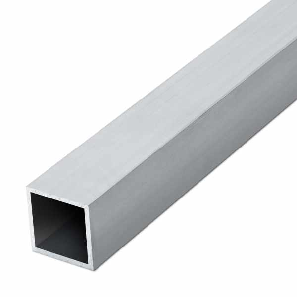 Vierkantrohr Aluminium EN AW-6060