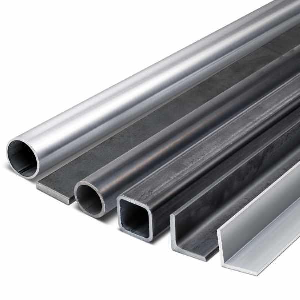 Restlängen Metallprofile aus Stahl Edelstahl & Aluminium