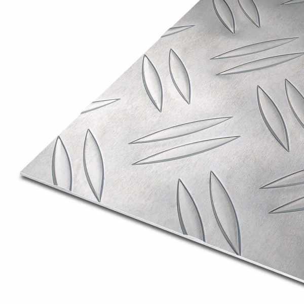 Riffelblech aus Aluminium | EN AW-5754 | Duett