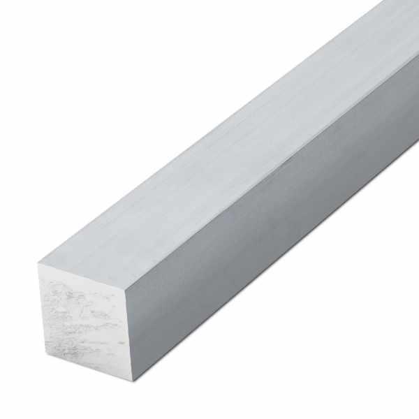 Aluminium-Vierkant