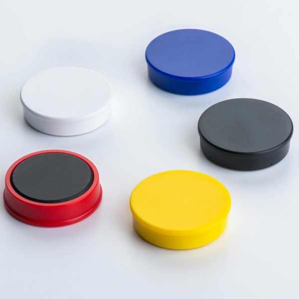 Ferrit Organisationsmagnet mit Kunststoffgehäuse
