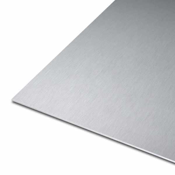 Blech aus Aluminium | EN AW-5754 | gewalzt | einseitige Laserfolie