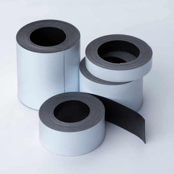 Magnetband zum Beschriften als Rolle - Gruppenbild