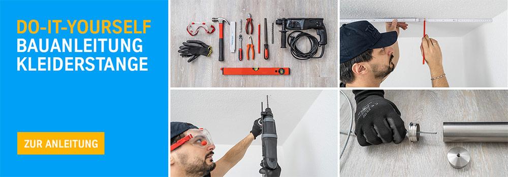 DIY Kleiderstange Bauanleitung