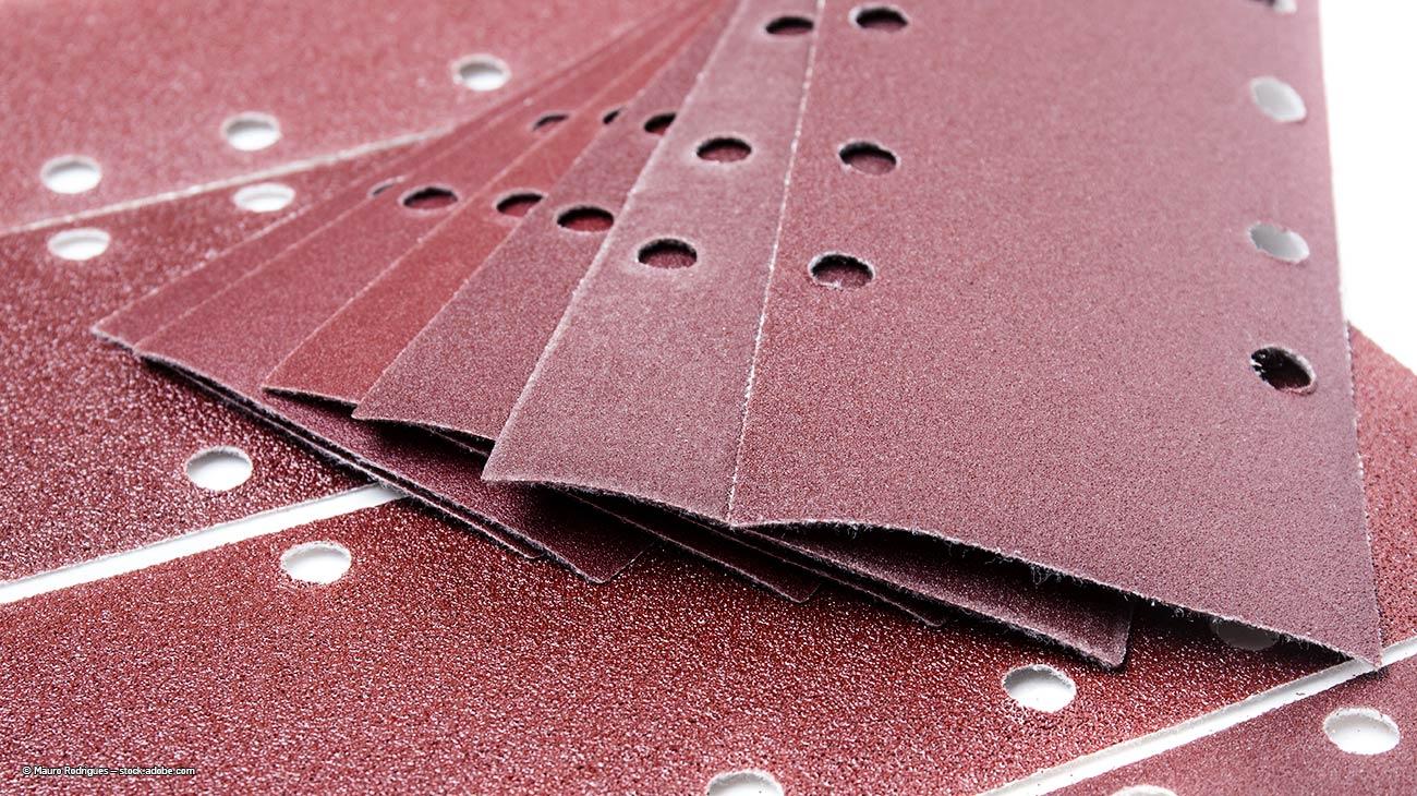 aluminium-schleifen-schleifpapier