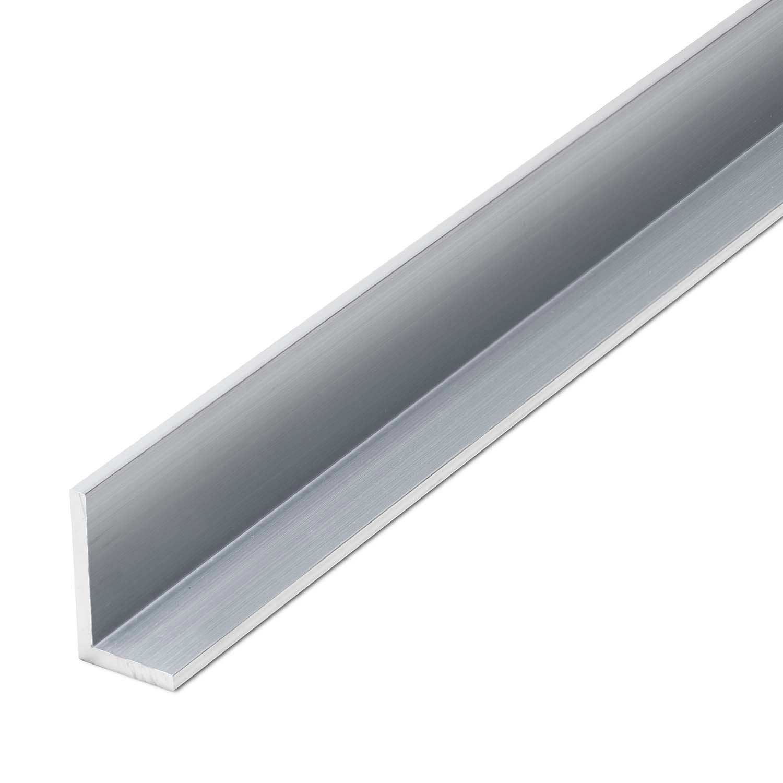 Alu je 100 mm Aluminium Winkel Winkelprofil  25 x 15 x 2 mm